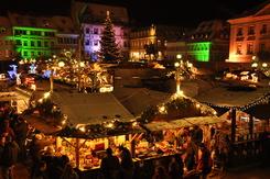 Landau Weihnachtsmarkt.Weihnachtsmarkt In Landau Dezember 2012